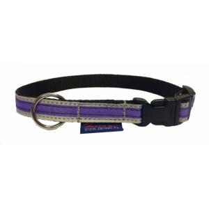 Obojek Sport reflex - fialový