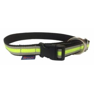 Obojek Sport reflex - neon zelený