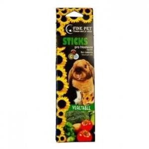 Tyčinky Fine Pet 2 ks pro hlodavce - zeleninové