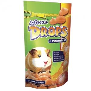 Mlsoun Drops pomerančový, 75g