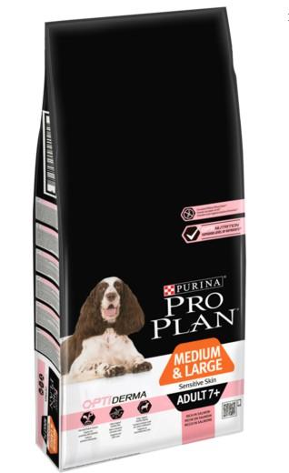 Pro Plan Adult Medium/Large 7+ Sensitive Skin Salmon