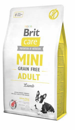Brit Care Dog Grain Free MINI Adult Lamb