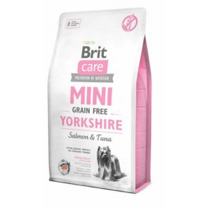 Brit Care Dog Grain Free MINI Yorkshire Salmon