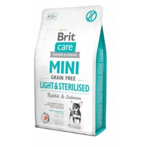 Brit Care Dog Grain Free MINI Light&Sterilised Rabbit