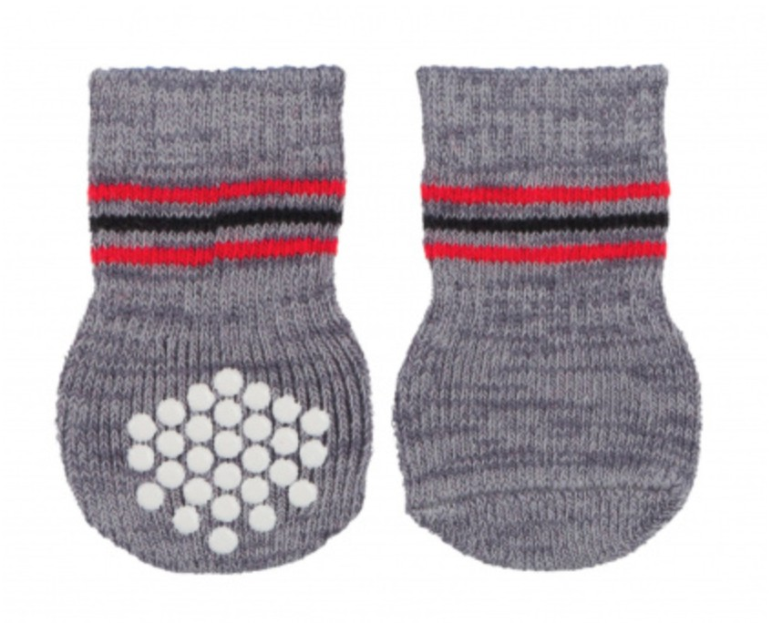 Protiskluzové ponožky - bavlna/elasten