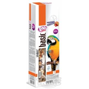 LOLO SMAKERS XXL 2 klasy ořechovo - ovocné pro velké papoušky