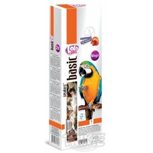 LOLO SMAKERS MEGA 2 klasy ovocné pro velké papoušky