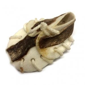 Bota z buvolí kůže s kachním masem