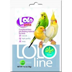 Lolo pets - mořská řasa pro ptáky