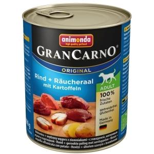 GranCarno Adult - uzený úhoř, brambory