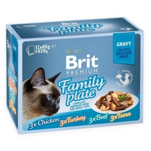 Brit Premium Cat Family Plate Gravy