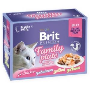 Brit Premium Cat Family Plate Jelly