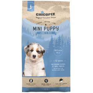 Chicopee Classic Nature Mini Puppy - Lamb&Rice