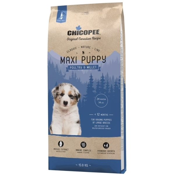 Chicopee Classic Nature Maxi Puppy - Poultry&Millet