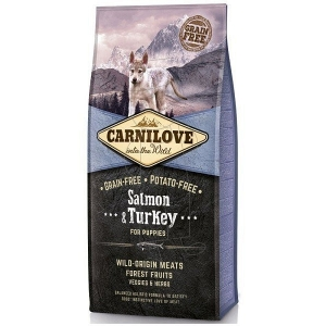 Carnilove Salmon & Turkey for Puppies (losos, krocan)