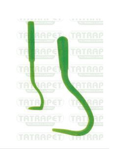 Háček na klíšťata plast - 2 ks
