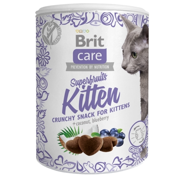 Brit Care Cat Snack Superfruits - Kitten