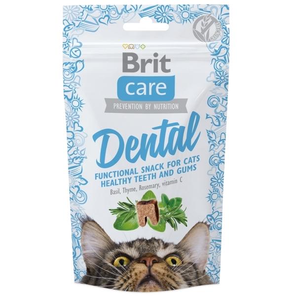 Brit Care Cat Snack Dental - Krůtí