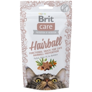 Brit Care Cat Snack Hairball - Kachní