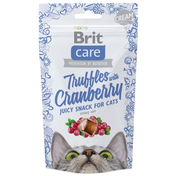Brit Care Cat Snack Truffles Cranberry - Brusinky