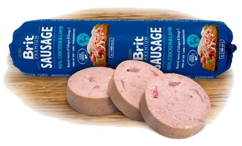 Brit sausage Chicken&Lamb NEW