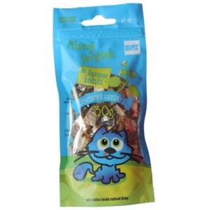 Lososové lupínky se šantou kočičí - 30 g
