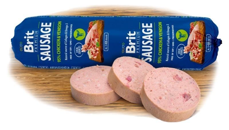 Brit sausage Chicken&Venison NEW