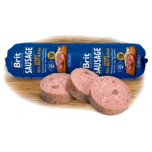 Brit sausage Sport Beef&Fish NEW