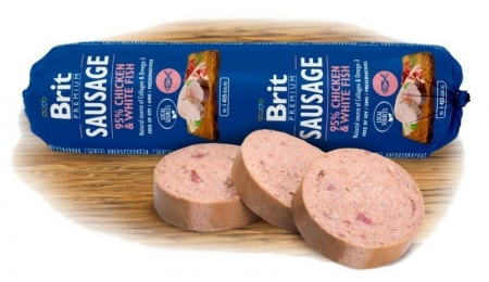 Brit sausage Chicken&White Fish