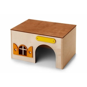 Domek dřevěný - Kvádr, pro morčata