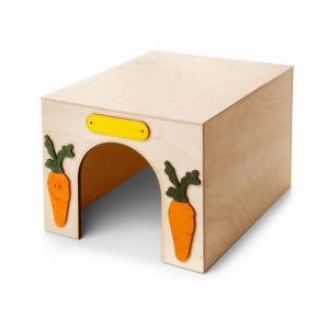 Domek dřevěný - Kvádr, pro králíky