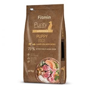 Fitmin Dog Purity Puppy Lamb & Salmon Rice