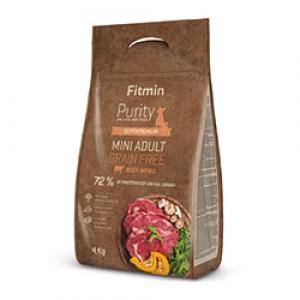 Fitmin Dog Purity Grain Free Adult Mini Beef