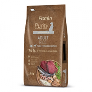 Fitmin Dog Purity Adult Fish & Venison Rice
