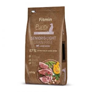 Fitmin Dog Purity Grain Free Senior & Light Lamb