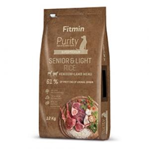 Fitmin Dog Purity Senior & Light Venison & Lamb Rice