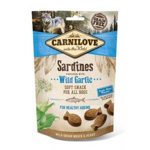 Carnilove Dog Soft Snack - Sardines with Wild Garlic (sardinky a medvědí česnek)