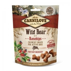 Carnilove Dog Crunchy Snack - Wild boar with Rosehips (divočák a šípky)