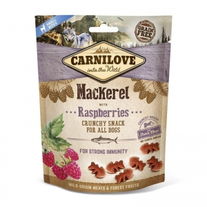 Carnilove Dog Crunchy Snack - Mackerel with Raspberries (makrela a maliny)