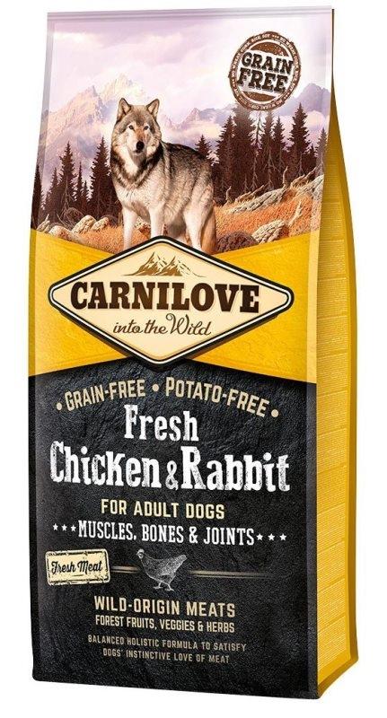 Carnilove Fresh Chicken & Rabbit (Kuře & Králík)