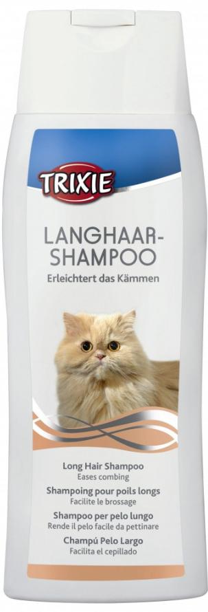 Šampon pro dlouhosrsté kočky