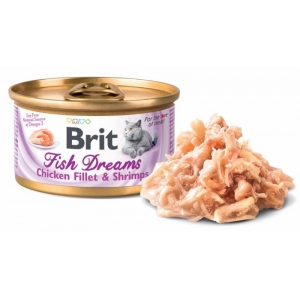 Brit Fish Dreams Chicken fillet & Shrimps 80g