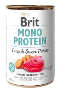 Brit Mono protein tuňák a sladké brambory - 400 g