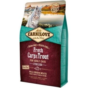 Carnilove Fresh Carp & Trout Sterilised Adult (kapr a pstruh)