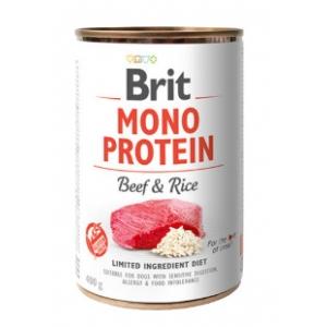 Brit Mono Protein hovězí a rýže - 400 g