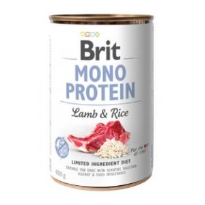 Brit Mono Protein jehně a rýže - 400 g