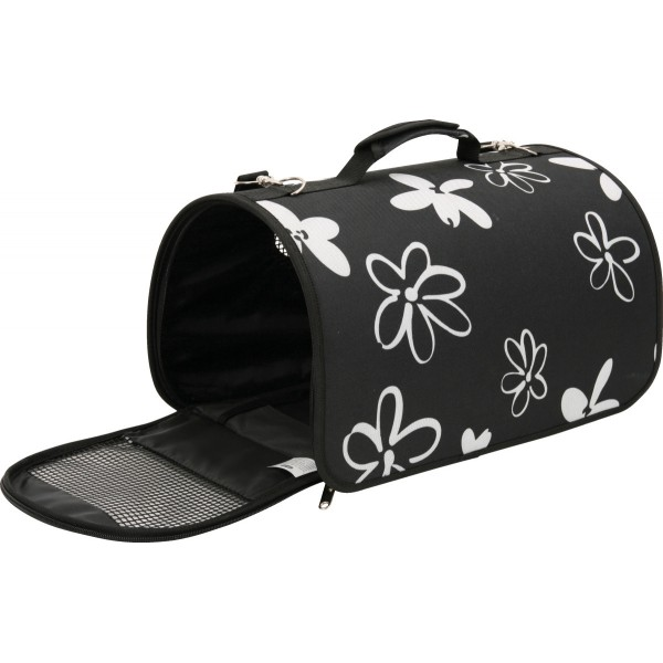 Přepravní taška Flower - černá