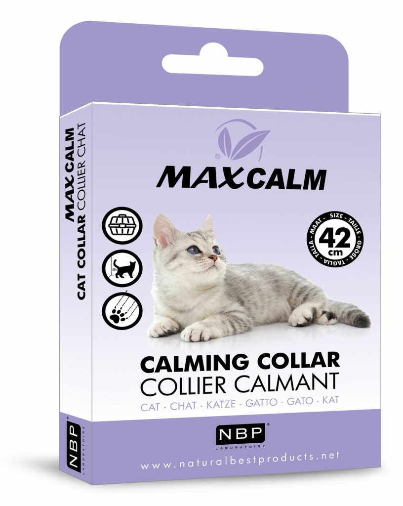 Max Calm Cat - obojek proti stresu