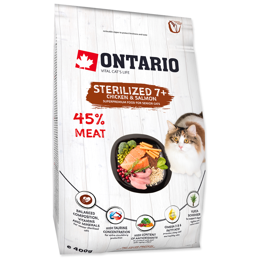 Ontario Sterilised 7+