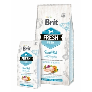 Brit Fresh Fish with Pumpkin Adult Large
